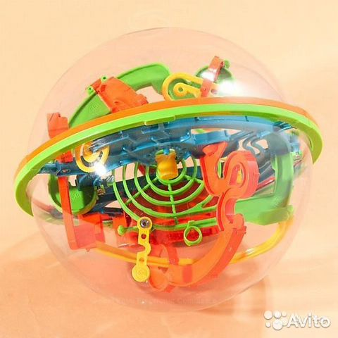 84942303606 Шар-лабиринт magical intellect ball 12 см