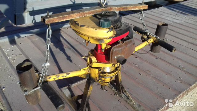 Буровая установка на базе мотобур м10  89506118633 купить 1