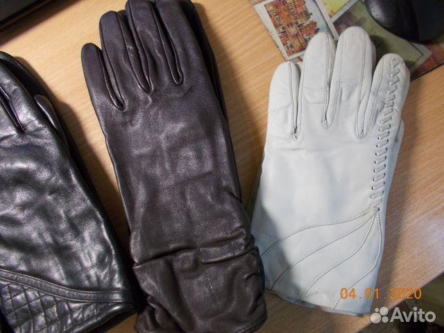 Перчатки кожаные  89052485517 купить 3
