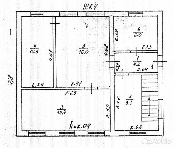 Дом 119.1 м² на участке 3.3 сот.