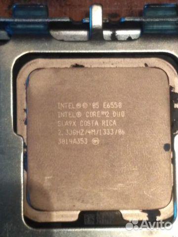 Процессор Intel core 2duo E6550 lga775