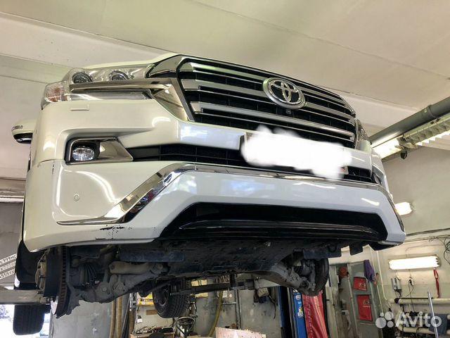Передний обвес Toyota Land Cruiser 200 Executive