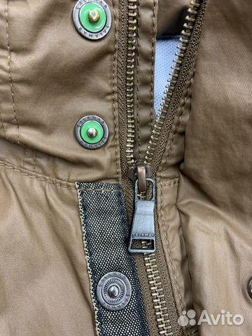 Мужская коричневая прорезиненная куртка Calamar  89218780739 купить 7