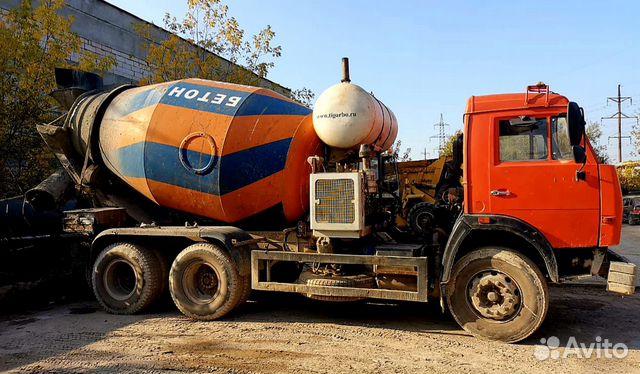 Купить автомиксер для бетона б у на авито стоимость бетона куб бетона в москве