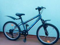 Горный почти новый велосипед