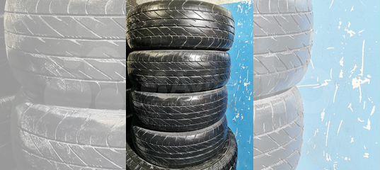 Комплект 205/65/15 Dunlop ec201 купить в Новосибирской области | Запчасти | Авито