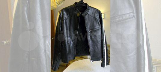 Куртка кожаная подростковая / молодежная