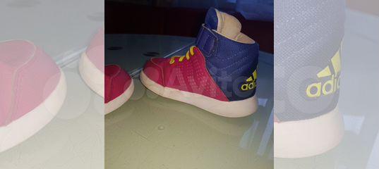 7ac9f398 Детские кроссовки хайтопы Adidas 24 размер купить в Мурманской области на  Avito — Объявления на сайте Авито