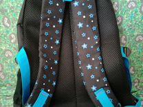 Портфель чёрный со звёздами
