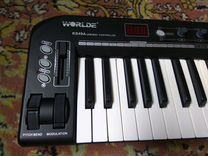 Midi-клавиатура Worlde KS49A/Bontempi UMC49