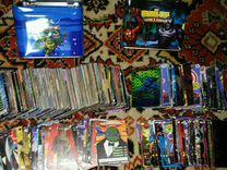 Коллекция карточек Черепашки Ниндзя и Человек Паук