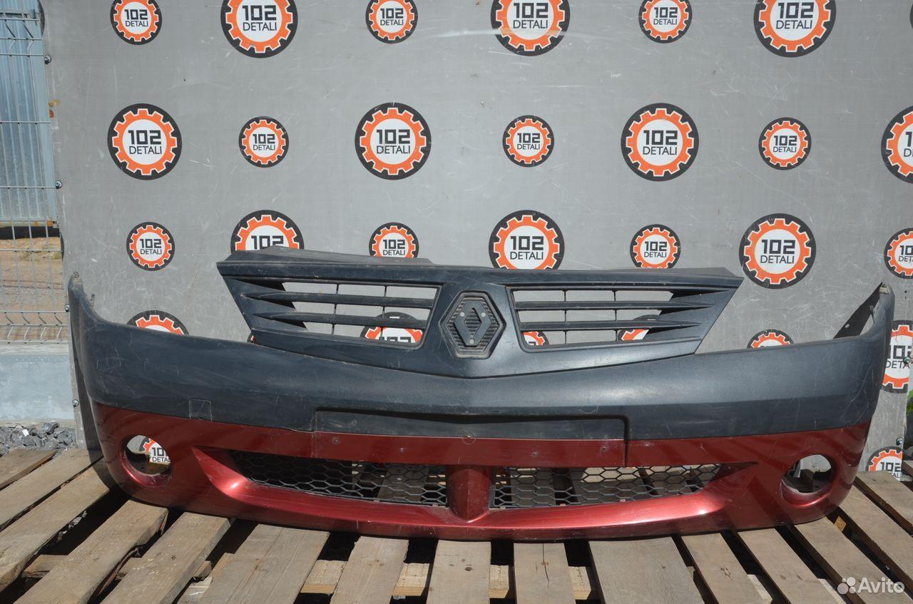 Бампер передний Renault Logan Фаза 1  89273200102 купить 1