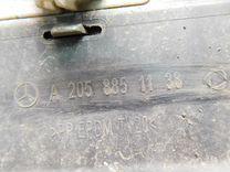 Спойлер бампера Мерседес Бенс W205