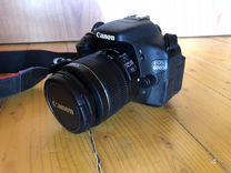 Фотоаппарат зеркальный Canon EOS 600D Kit 18-55
