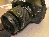 Фотоаппарат Canon eos 600d, состояние нового
