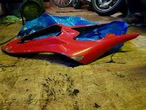 Задний пластик (хвост) Yamaha R1 2009-2012