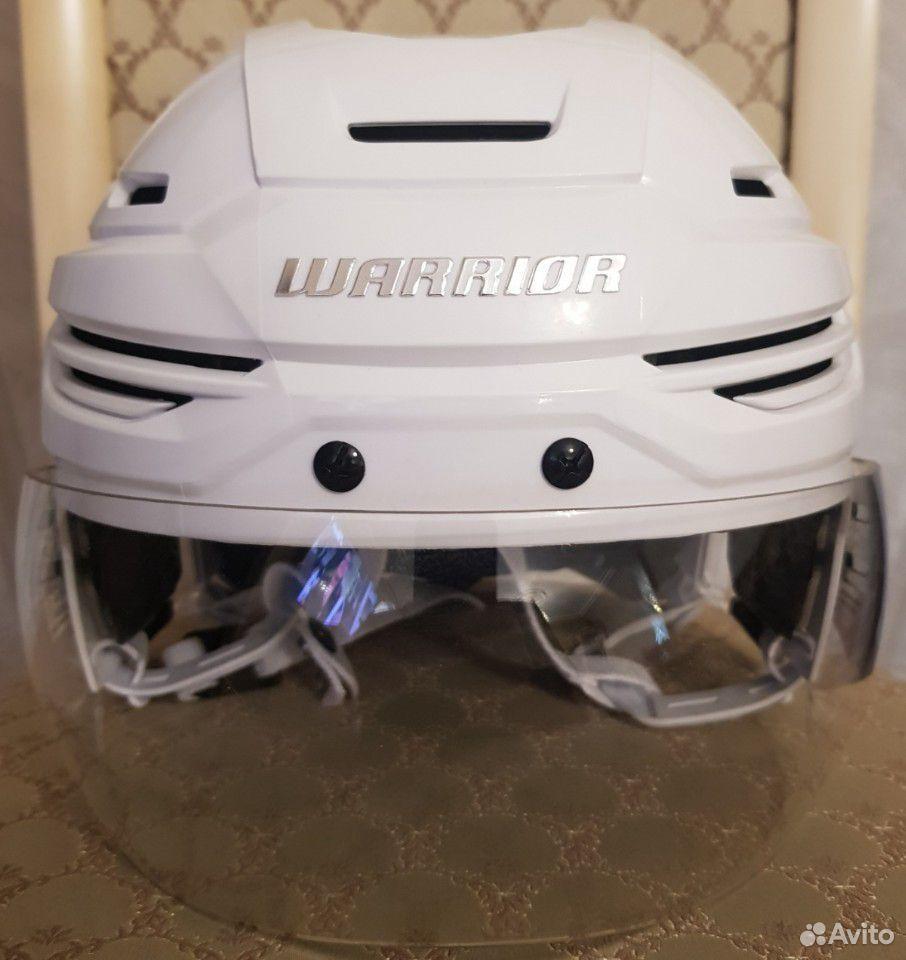Топовый хоккейный шлем Warrior alpha one. Размер M  89143382906 купить 1