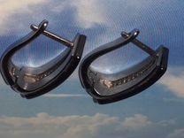 Керамический гарнитур,посеребрённое(кольцо,серьги)