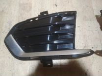 Комплект накладка переднего бампера cadillac xt5