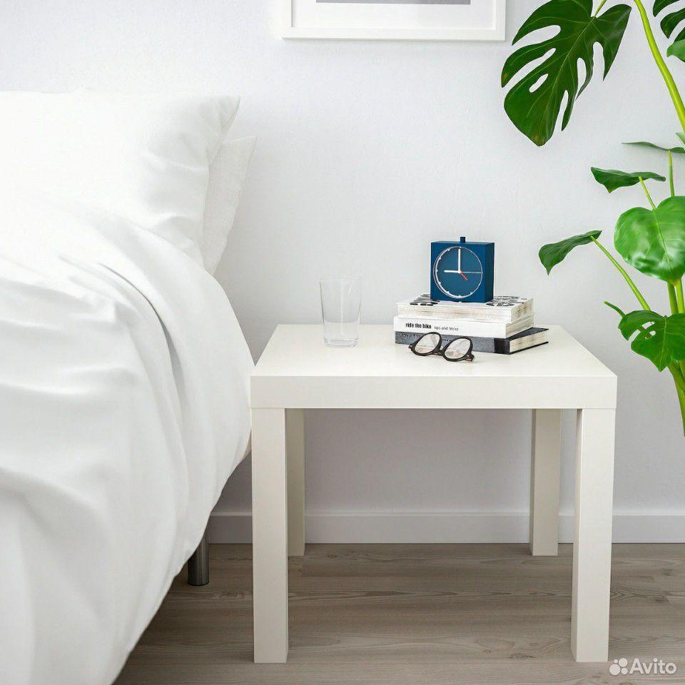 Лаккпридиванный столик, белый55x55 см  89632945800 купить 3