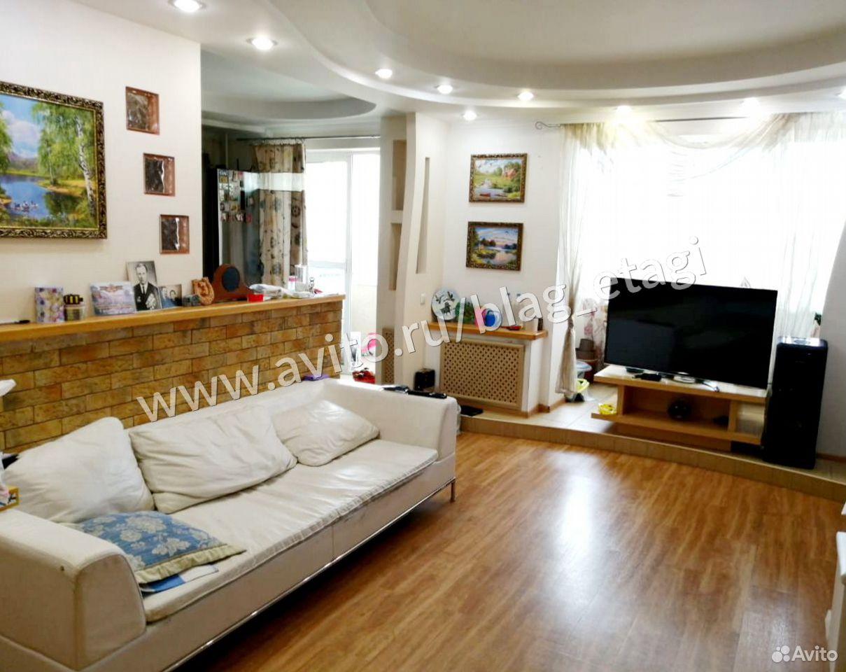 3-к квартира, 83 м², 3/5 эт.