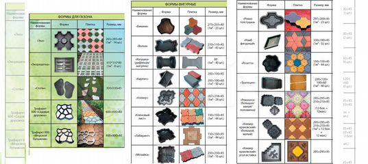 формы для бетона купить иркутск
