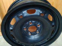 Диски штампованные 4 штуки диаметр 14 дюймов