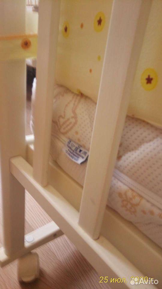 Детская кроватка два положения матрас ортопедическ  89243932969 купить 3