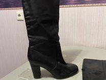 Сапоги демисезонные,размер 38 из натуральной кожи — Одежда, обувь, аксессуары в Санкт-Петербурге
