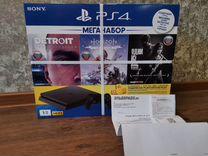 PS4 1Tb PlayStation 4 HZD+Detroit+tlous+PS+