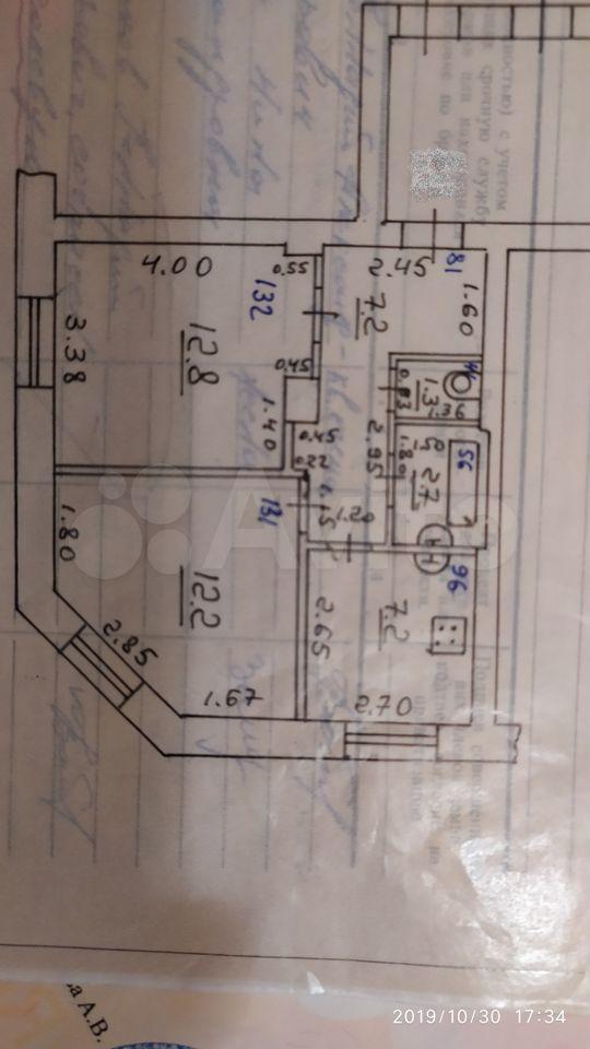 2-к квартира, 43.4 м², 5/5 эт.  89198130831 купить 9