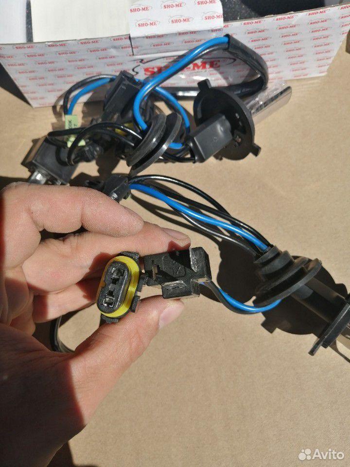 Комплект ксеноновых ламп sho-me Н4 +розжиги  89043175700 купить 4
