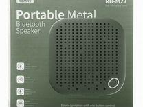 Bluetooth колонка Remax M27 зеленая — Аудио и видео в Перми