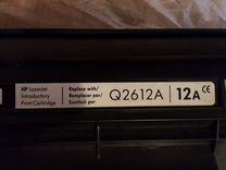 Картридж HP Q2612A, оригинал