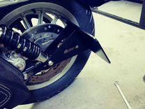 Кронштейн номера грз Harley-Davidson Sportster