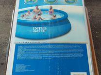 Надувной бассейн intex 366х91см