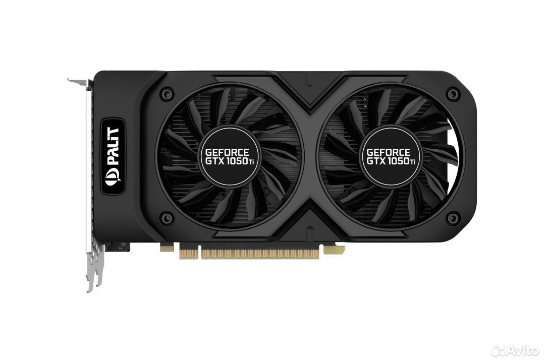 Palit GeForce GTX 1050 Ti Dual OC 4gb  89201815824 купить 2