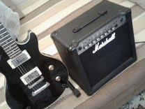 Гитара Greg Bennet Avion black и комбик