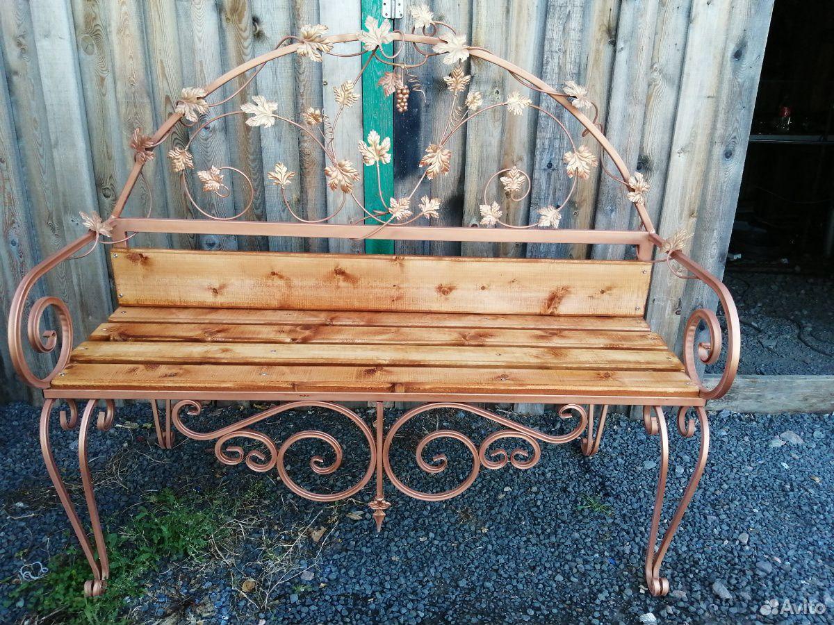 Кованая скамейка  89029735866 купить 1
