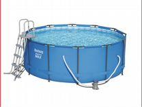 Каркасный бассейн 366 х 122 см Steel Pro