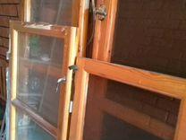Окна лиственница 1800/510.14шт внешнее стекло тони