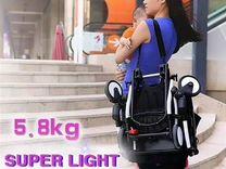 Yoya 175 йойа ёя лёгкая коляска на плечо в самолёт