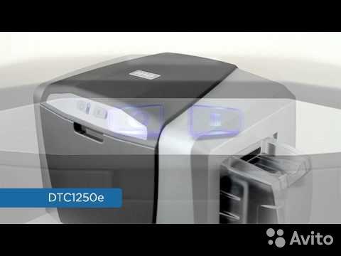 Принтер пластиковых карт HID fargo DTC1250e